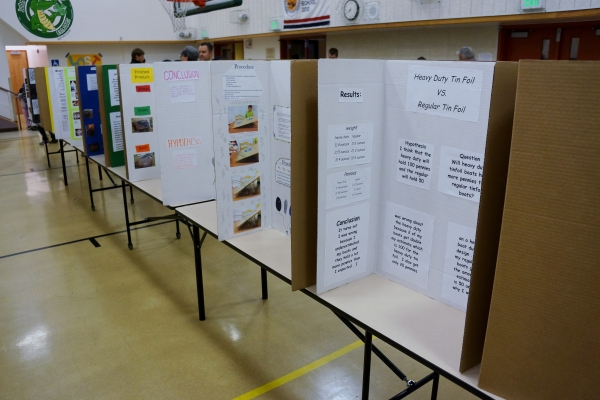 John Green Elementary School Science Fair Projects