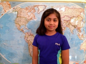 Rhea Mitr - Quarry Lane School - California State National Geographic Bee Competitor
