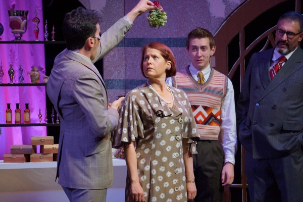 She Loves Me - Pacific Coast Repertory Theatre Production - Firehouse Arts Center