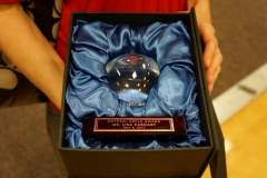 Crystal Apple Award - Lisa Carhart - Dublin High School