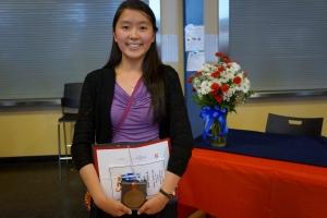 Dublin High School Valedictorian Malina Jiang