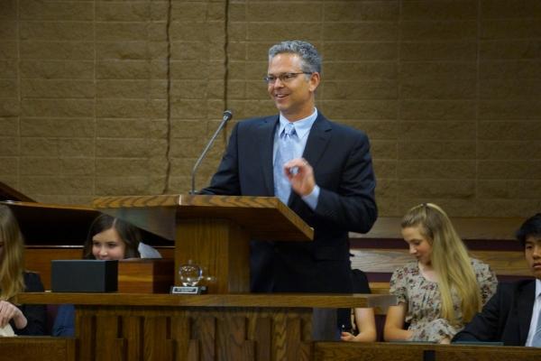 Foothill High School teacher Chris Jones