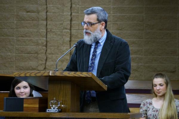 Foothill High School teacher Michael Leitz