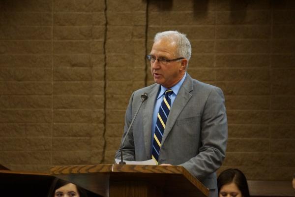 Retiring Amador Valley High School principal Jim Hansen