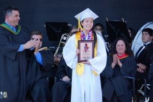 Valedictorian Malina Jiang