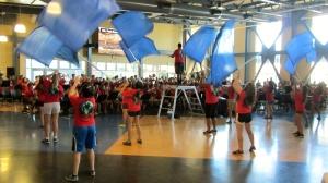 Dublin High School Irish Guard Band Camp 2013