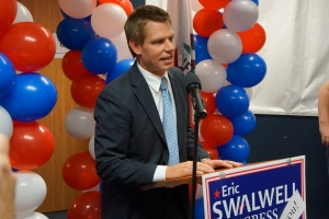 Swalwell on Election Night 2012