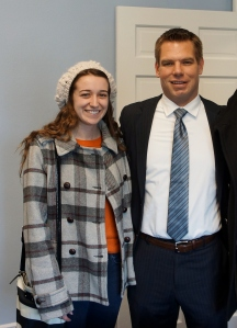 Congressman Swalwell with Emily