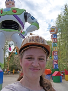 Molly in Toy Story Playland