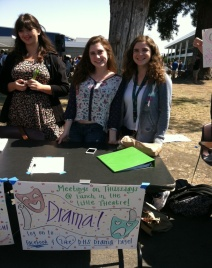 Dublin High School Drama Club at the Club Faire 2013