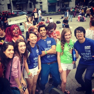 Jump Start Students at Zombie Walk Day