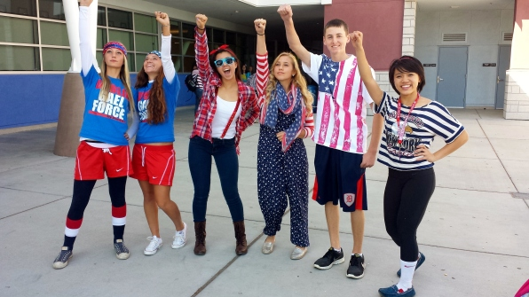 Dublin High School Homecoming 2013 Patriotic Day - 1