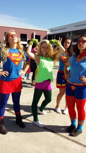Dublin High School Homecoming 2013 Superhero Day - 1