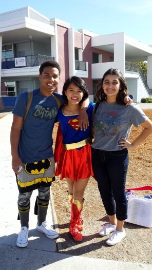 Dublin High School Homecoming 2013 Superhero Day - 2