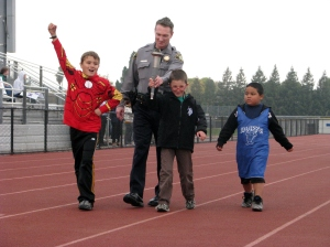 Special Olympics Soccer Competition