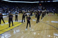Fallon Middle School Cheer Team Performs at the Warriors 2013 Halftime Show 2