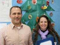 Murray Elementary School Celebrates Opening of Kindergarten Complex - Craig Lemos and Principal Carrie Nerheim