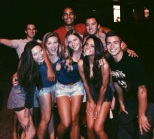 University of Colorado Boulder Tristan Elias with friends