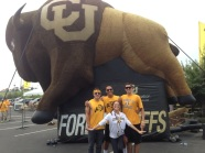 University of Colorado Boulder Buffs Mascot