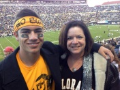 University of Colorado Boulder Tristan Elias with his mom