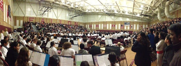 2014 District Concert Pano