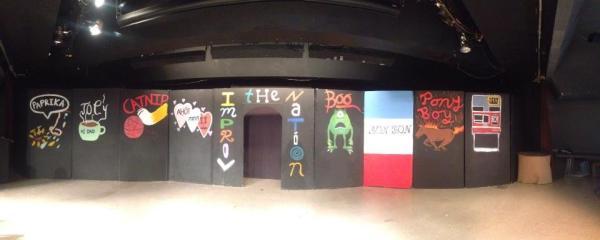 Dublin High School Improv the Nation Stage