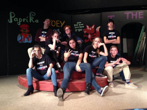 Dublin High School Improv Team