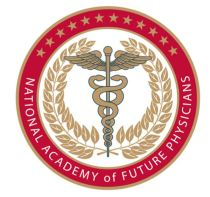 National Academy of Future Physicians logo