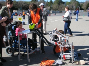 Tri-Valley Special Olympics of Northern California Dublin High School Robotics Club Robot