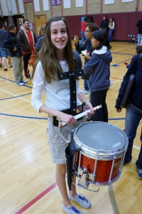 Fallon Middle School Drumline - Evelyn