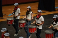 Fallon Middle School Drumline 1