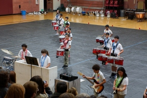 Fallon Middle School Drumline 2