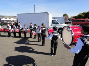 Fallon Middle School Drumline Warm-up