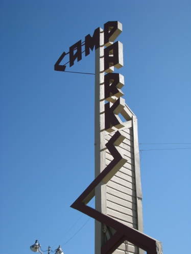 Camp Parks Dublin Sign