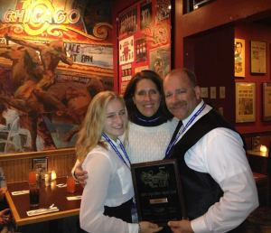 Dublin High School Irish Guard Band Chicago Trip Everts Family with Gold Award