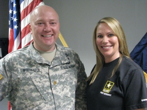 Major Worthington and Bree LeMoine