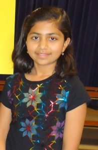 Rhea Mitr National Geographic State Bee 2014 3rd Place Winner