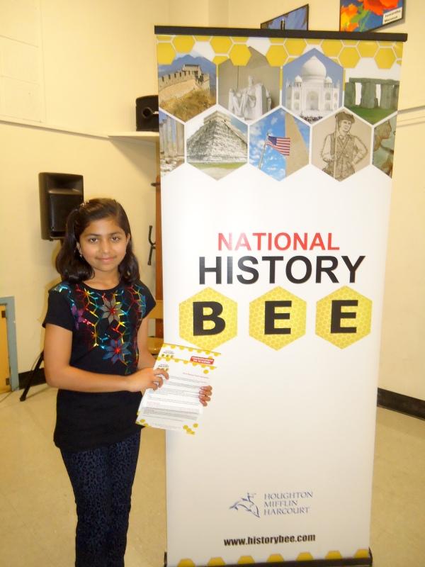 Rhea Mitr National History Bee