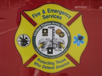Camp Parks Fire and Emergency Services Logo