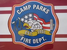 Camp Parks Fire Department Logo