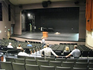 New Dublin High Theater