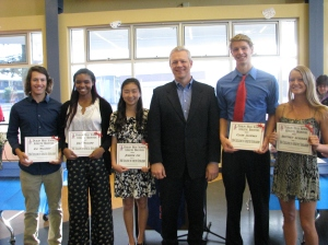 Dublin High School Athletic Boosters Scholarship Winners