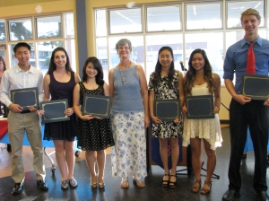 Dublin High School Senior Awards Night 2014 - Dublin High School PFSO Scholarship Winners