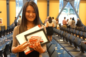 Dublin High School Senior Awards Night 2014 - National Merit Scholarship Winner Kimberli Zhong