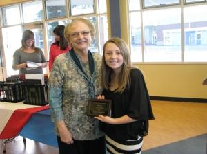Tri Valley Retired Educators Scholarship Winner Alyssa Collins