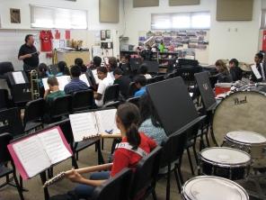 Fallon Middle School Jazz Band Rehearsal 2