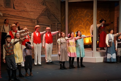 Pacific Coast Repertory Theatre Production of The Music Man Firehouse Arts Center Pleasanton California 12