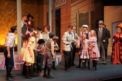 Pacific Coast Repertory Theatre Production of The Music Man Firehouse Arts Center Pleasanton California 13