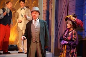 Pacific Coast Repertory Theatre Production of The Music Man Firehouse Arts Center Pleasanton California 29