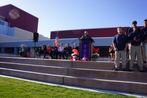 Dublin High School Center for Performing Arts and Education Ribbon Cutting Ceremony 1